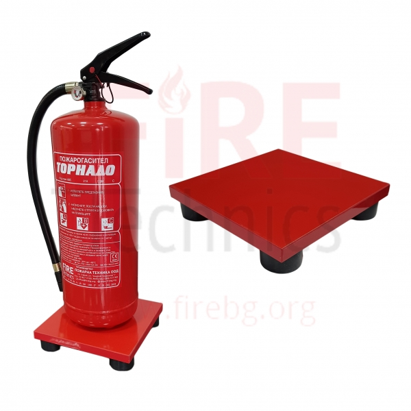 Stand for fire extinguishers
