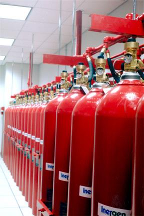 Fire Suppression Systems Inergen Fire Technics Ltd